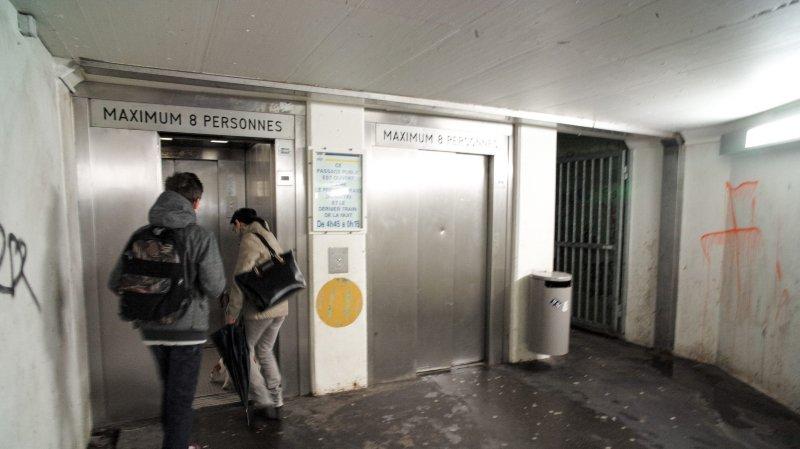 Bientôt des ascenseurs de la gare tout neufs à La Chaux-de-Fonds