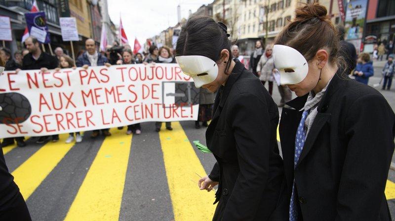 Les victimes de la politique d'austérité neuchâteloise sortent du silence