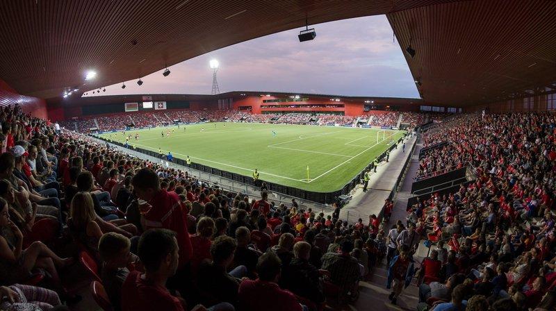 Comme ici lors du match de l'équipe de Suisse A contre la Biélorussie le 1er juin 2017, la Maladière accueillera un nouveau match international le 27 mars.