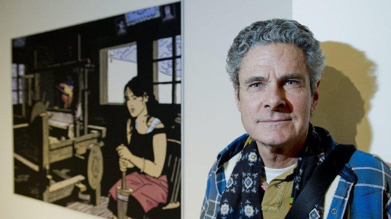 Depuis plus de 40 ans, l'illustrateur propose des albums empreints d'aventure, d'humanité, de rêve et de spiritualité.