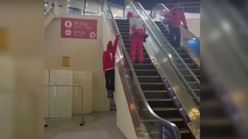 La vidéo du skieur suisse qui fait sensation à Pyeongchang — JO