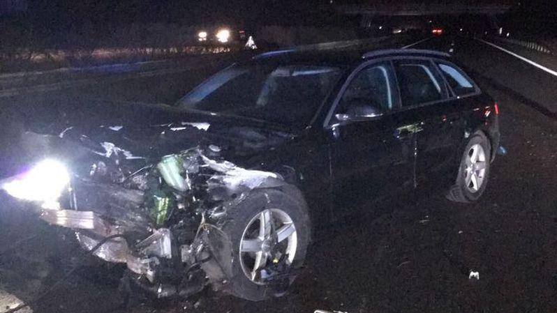 Le véhicule du couple a été détruit lors de la course-poursuite.