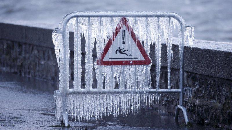 À certains endroits en Suisse, il n'a jamais fait aussi froid cet hiver.