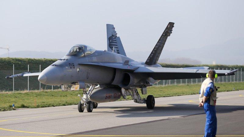 Aucun F/A-18 ne pourra s'envoler avant d'avoir subi un nouveau contrôle de sécurité (archives).