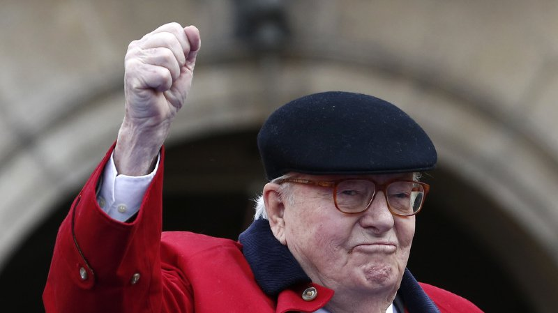 France: l'exclusion de Jean-Marie Le Pen du Front national est confirmée
