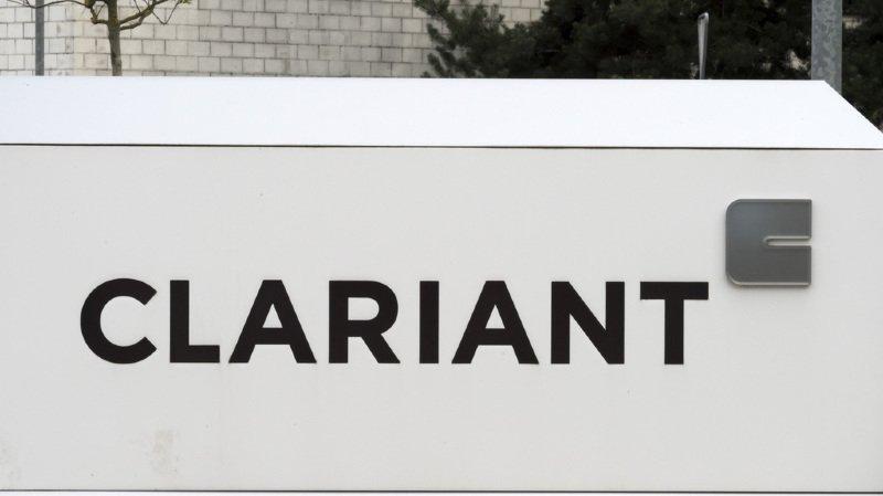 A la clôture de la Bourse suisse, le titre Clariant a perdu 8,1%.