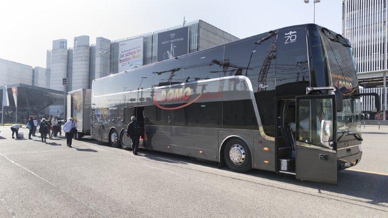 Domo pourra exploiter trois grandes lignes à travers la Suisse jusqu'en 2020.