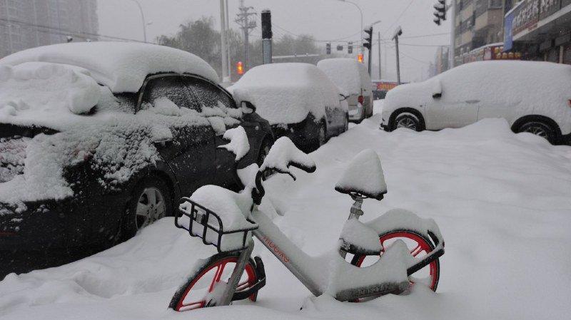 Le Centre météorologique national a renouvelé une alerte orange à la tempête de neige dans le centre et l'est de la Chine. (illustration)