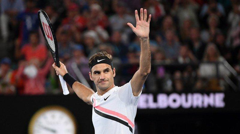 """""""Je suis parfois plus nerveux avant un 1er tour qu'avant une finale"""", confie Roger Federer."""