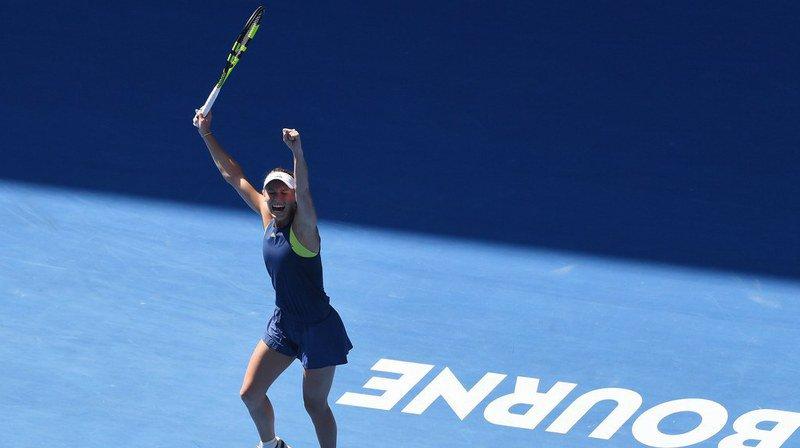 La Danoise Caroline Wozniacki disputera ce samedi sa première finale à Melbourne.