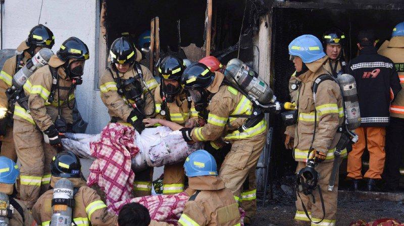 Corée du Sud: au moins 41 morts dans l'incendie d'un hôpital