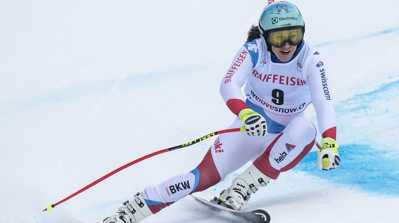 Wendy Holdener, 4e ex-aequo avec Lara Gut, est très bien placée avant le slalom.