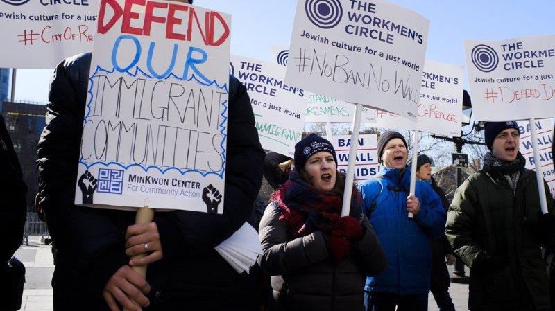 Le décret anti-immigration avait suscité une levée de boucliers.