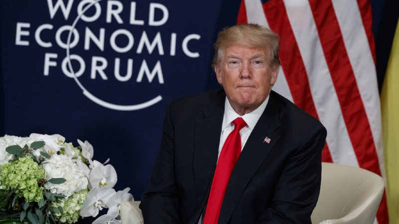 WEF 2018: pour certains médias, Donald Trump est un charlatan, pour d'autres, un génie