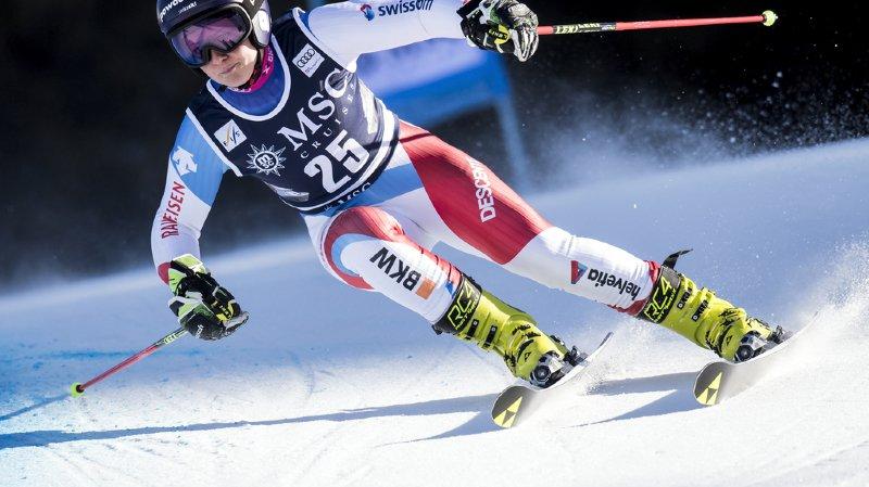 Ski alpin: Simone Wild termine 4e du géant de Lenzerheide