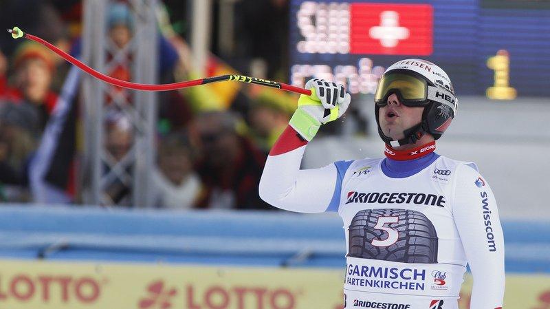 Ski alpin: Beat Feuz remporte la descente de Garmisch en Allemagne