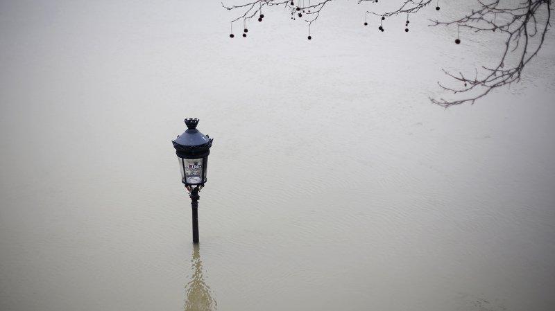 France: la Seine devrait atteindre son pic de crue dans la nuit à Paris