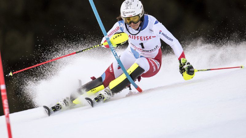 Ski alpin: Wendy Holdener termine 3e du slalom de Lenzerheide