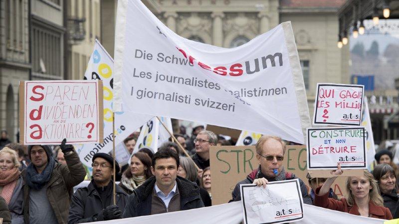 Médias: le mouvement de grève se poursuit à l'ATS