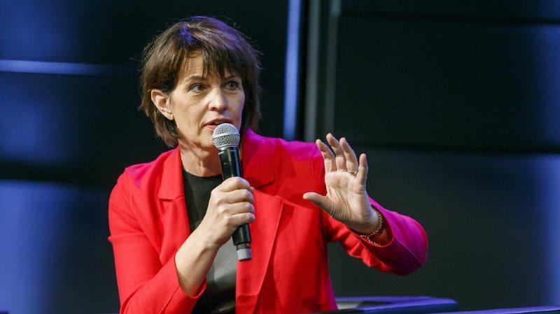 Médias: Doris Leuthard appelle les propriétaires de l'ats à régler la crise