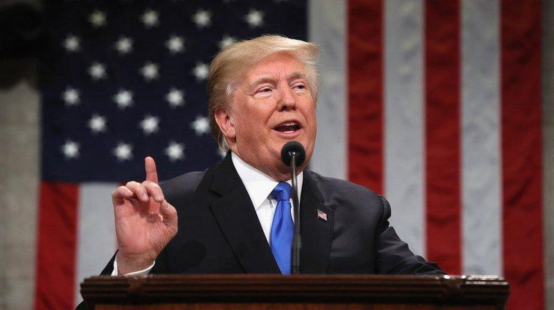 Pendant les 80 minutes qu'a duré son discours, M. Trump s'est efforcé de faire taire les doutes entourant son exercice du pouvoir.