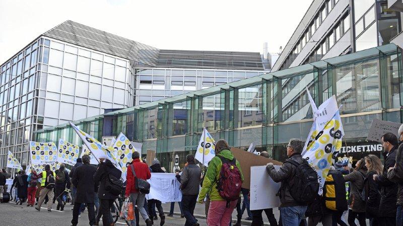 Suisse: les journalistes de l'ats poursuivent leur grève