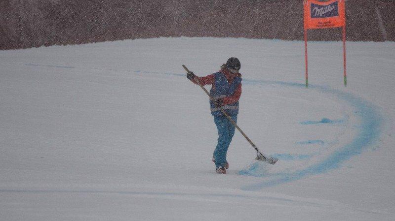 Ski alpin: la descente-sprint de samedi en Coupe du monde dames est annulée