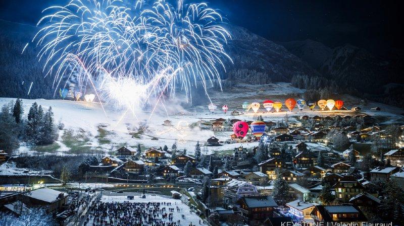 Château-d'Oex: 35'000 personnes pour le Festival de ballons à air chaud