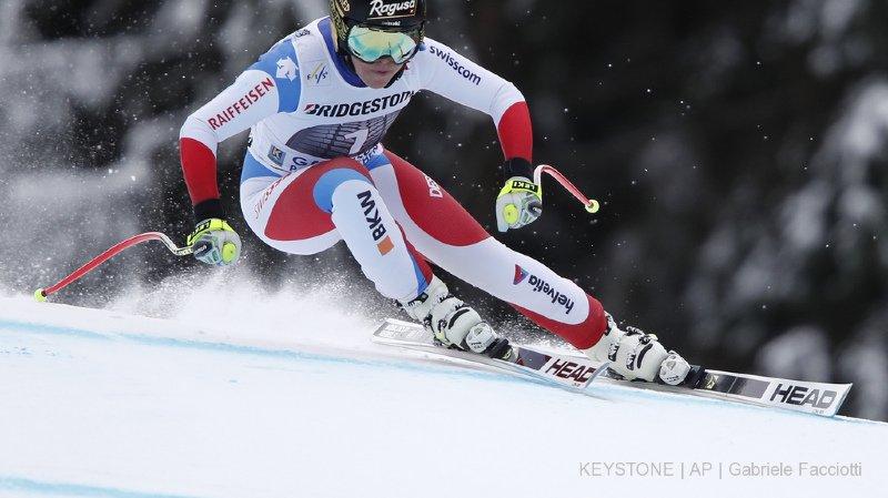 Ski alpin: Lindsey Vonn signe sa 80e victoire lors de la descente de Garmisch-Partenkirchen, Gut 6e