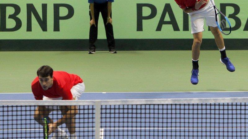 Tennis: la Suisse battue par le Kazakhstan en 3 matchs dès le premier tour de la Coupe Davis