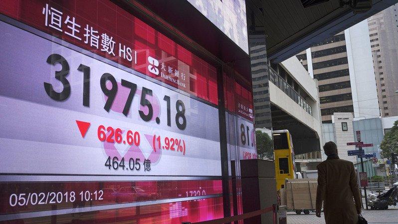 Marchés: après la dégringolade de Wall Street, la Bourse de Tokyo finit en baisse de 4,73%