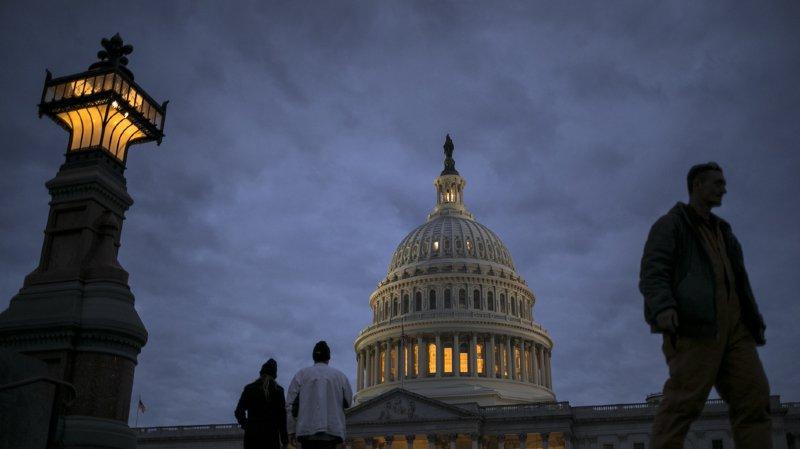 """Etats-Unis: """"shutdown"""" certain après l'ajournement des travaux du Sénat"""