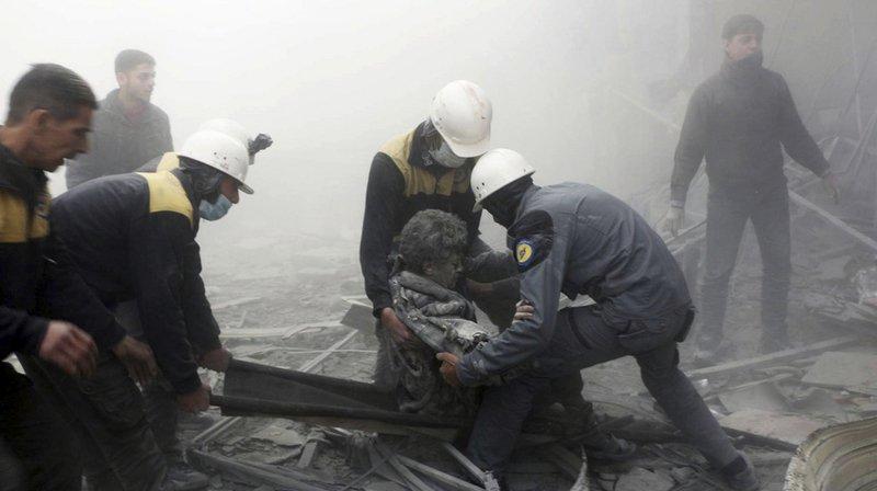Syrie: cinquième jour de raids sur la Ghouta orientale, plus de 230 civils tués