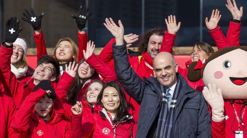 JO 2018: Alain Berset à Pyeongchang pour affirmer la présence de la Suisse