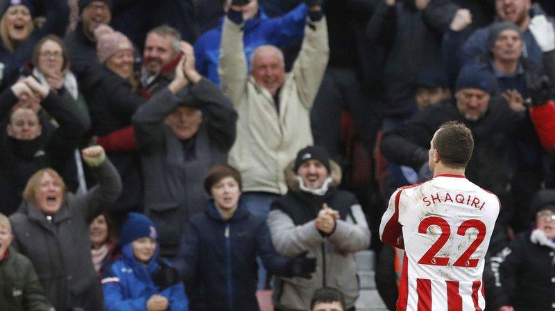 Le Bâlois est en grande forme, il a signé sa troisième réussite en trois rencontres avec Stoke City.