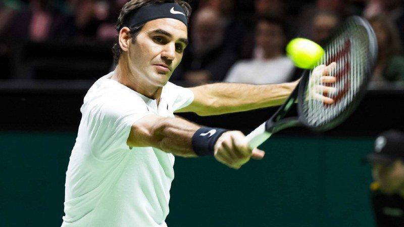 Tennis: Roger Federer redevient n° 1 mondial à 36 ans en accédant aux demi-finales à Rotterdam