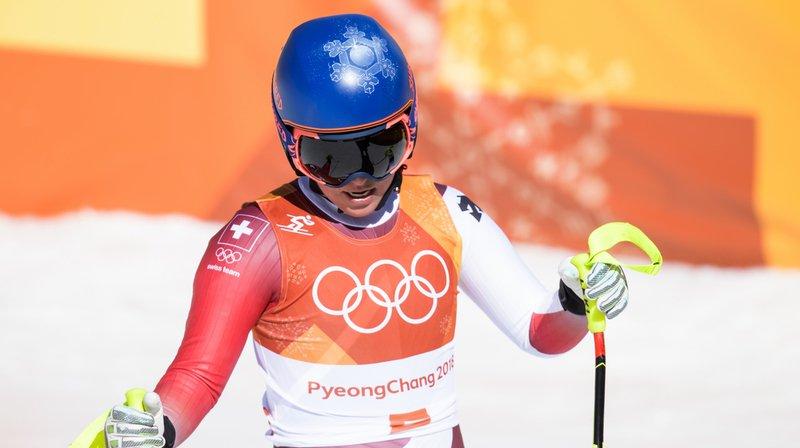 Quatrième du super-G, éliminée en première manche lors du géant et en descente, les Jeux olympiques de Lara Gut apposent un constat sans appel.