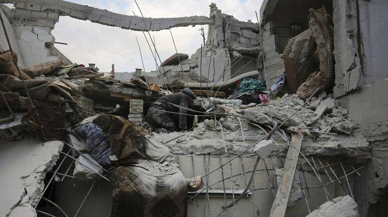 Le régime mène depuis dimanche une campagne de bombardements dévastateurs sur l'enclave qu'il assiège depuis 2013.