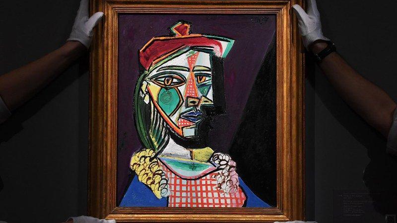 Enchères: un tableau de Picasso, où se cache sa maîtresse, vendu 64 millions