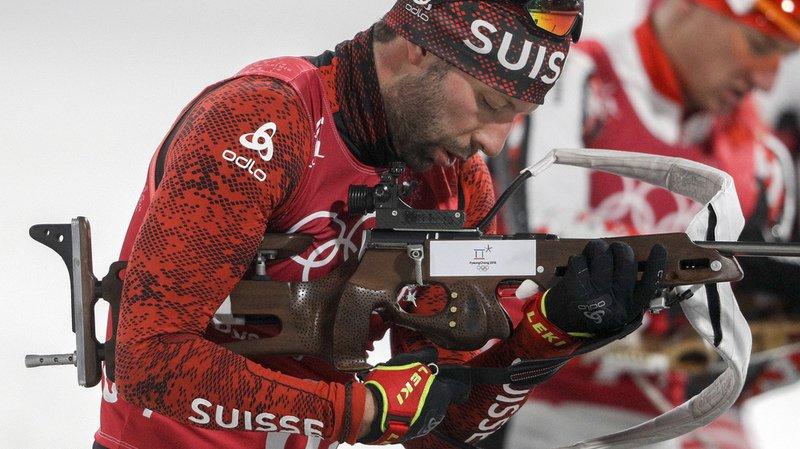 Les Suisses, ici Serafin Wiestner, ont commis 24 fautes au tir…