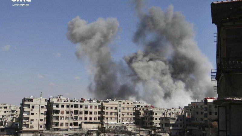 Les raids du régime syrien ont tué en sept jours plus de 500 civils, dont 123 enfants.