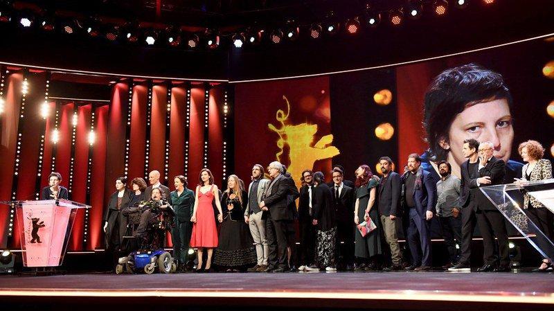 """La Berlinale a récompensé de son Ours d'Or le film """"Touch me not"""" de la réalisatrice roumaine Adina Pintilie."""