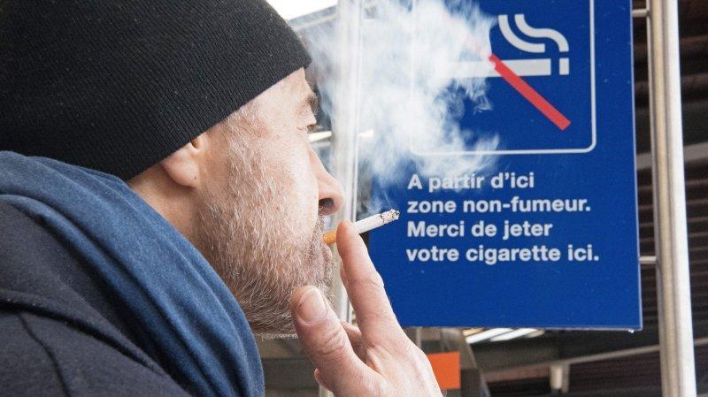 Au-delà de cette limite, votre cigarette n'est plus valable