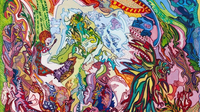 Confrontation des œuvres picturales  de Friedrich Dürrenmatt et de sa fille Ruth