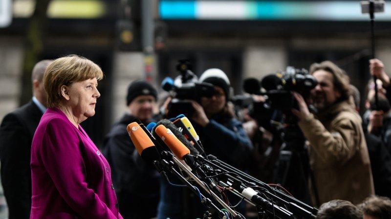 Merkel en quête d'un gouvernement — Alemagne