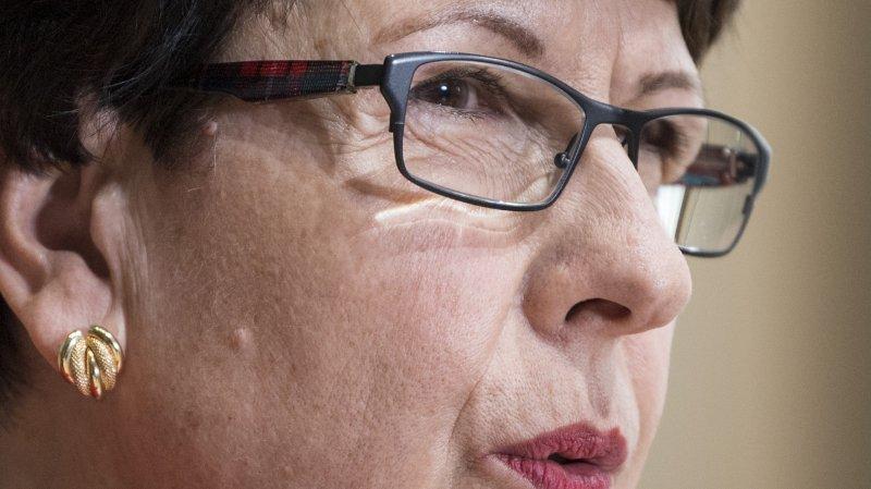 Susanne Ruoff prétend n'avoir «ni menti, ni fait quelque chose de faux».