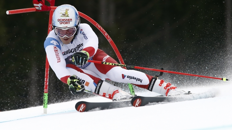 Ski alpin: le Valaisan Loïc Meillard 4e du géant de Are remporté par Marcel Hirscher