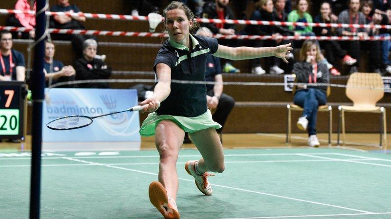 La Chaux-de-Fonnnière Sabrina Jaquet affrontera une Danoise au prochain tour à Bâle.