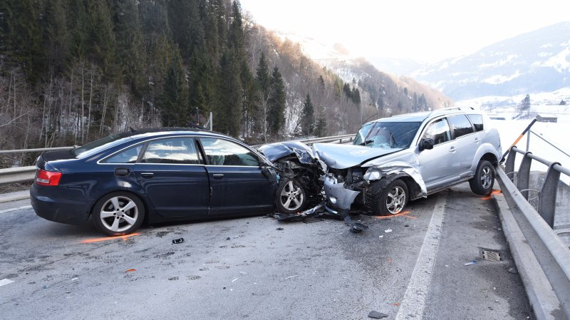 Six personnes blessées dans un accident dans les Grisons