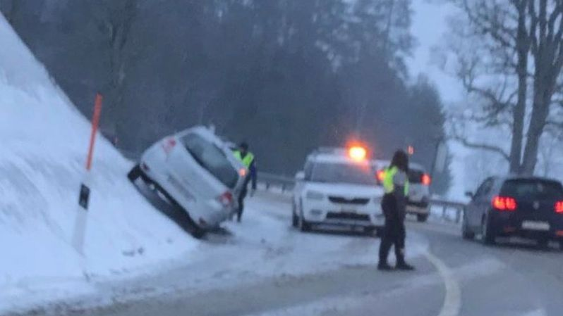 L'accident s'est produit ce lundi matin entre La Chaux-de-Fonds et La Cibourg.